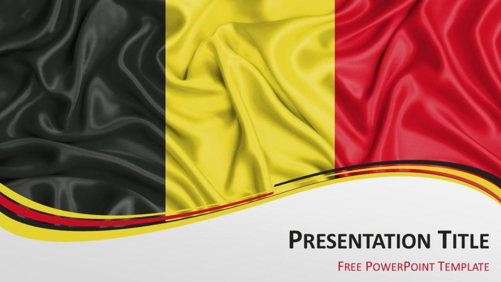 Free Belgium PowerPoint Template