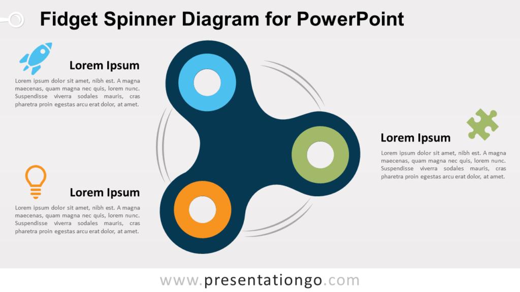 Free Fidget Spinner for PowerPoint