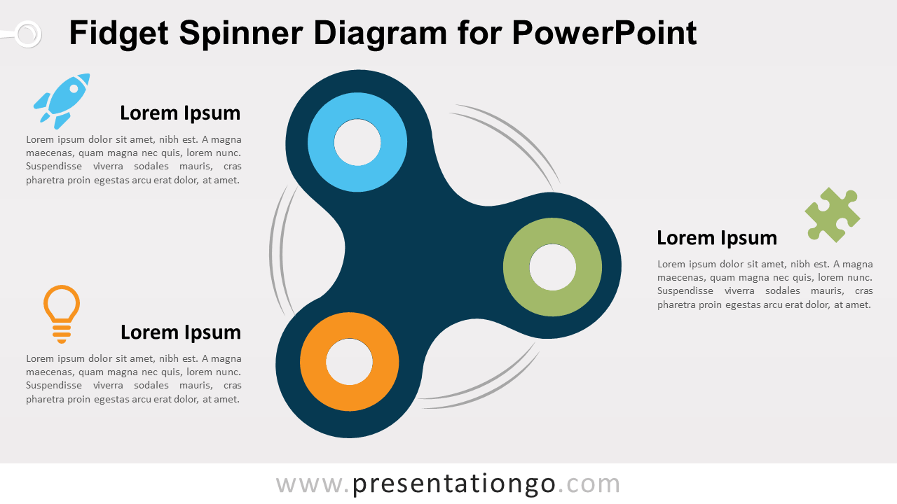 Free Fidget Spinner for PowerPoint