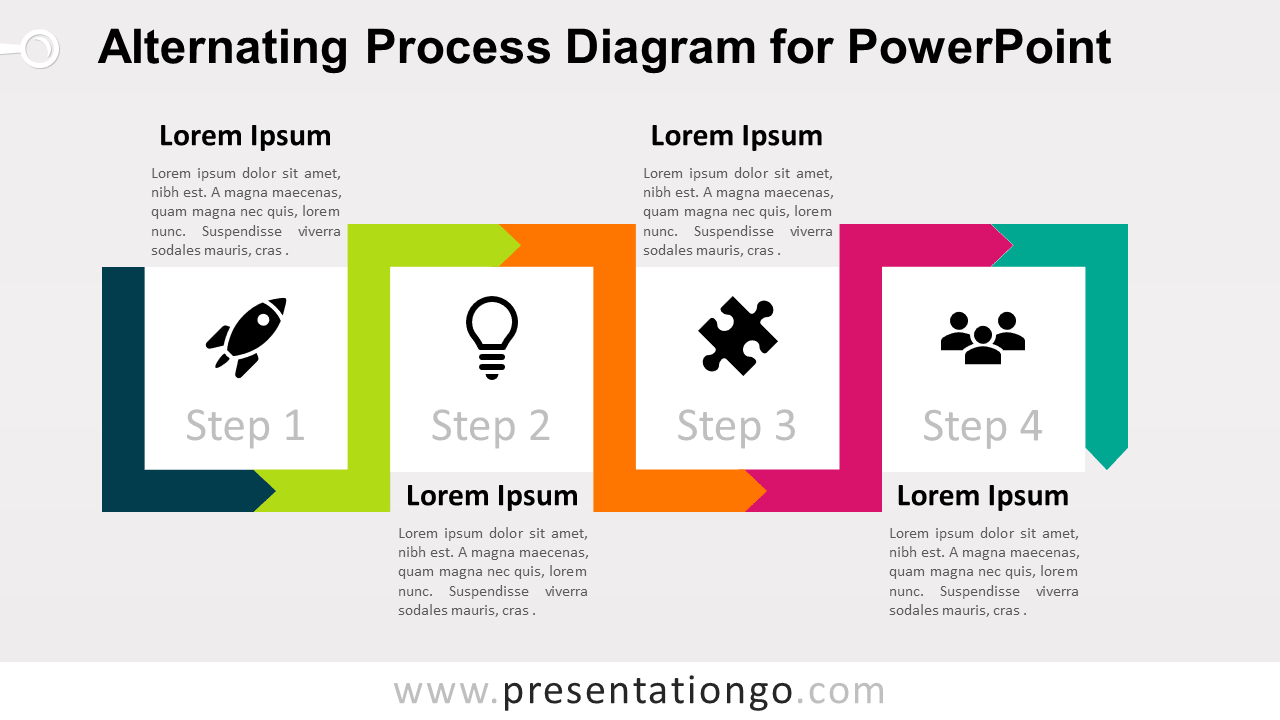 Free Alternating Process PowerPoint