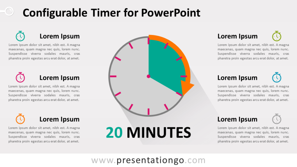Free Configurable Timer Graphics for PowerPoint