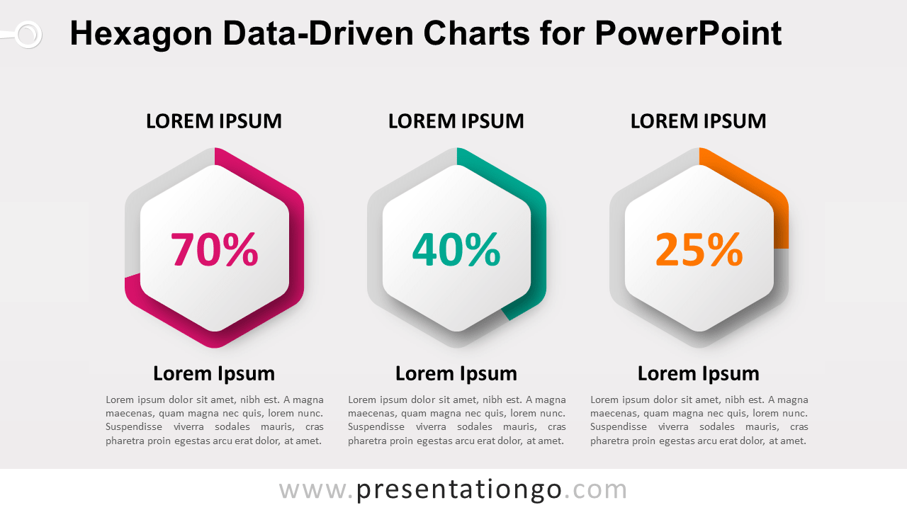 Free Hexagon Charts for PowerPoint