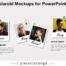 Free Polaroid Mockups for PowerPoint