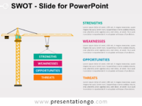 Free SWOT Slide for PowerPoint