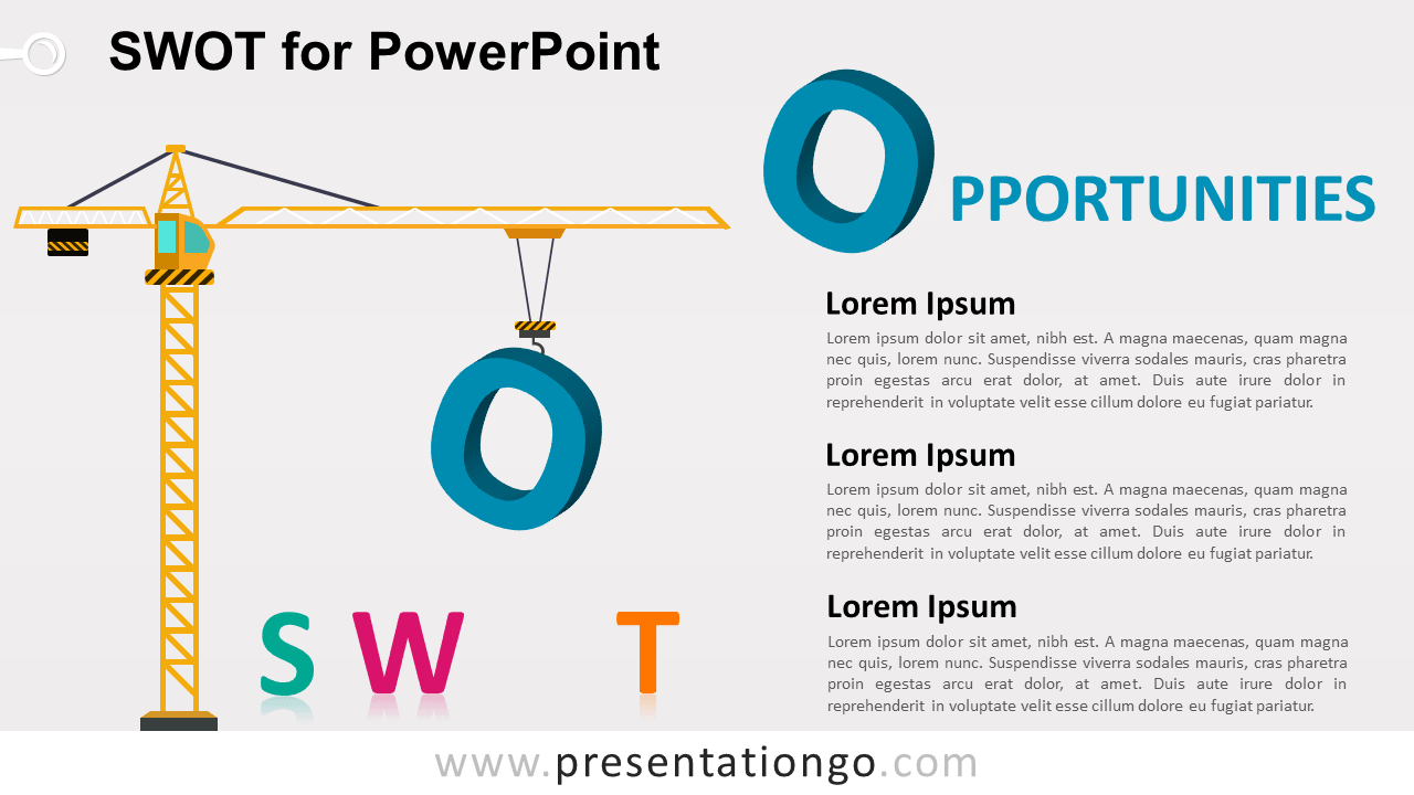 SWOT Template for PowerPoint - Opportunities