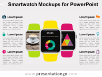 Free Smart Watch Mockups for PowerPoint