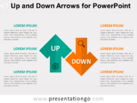 Free Up and Down Arrows for PowerPoint