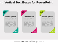Free Vertical Text Boxes for PowerPoint