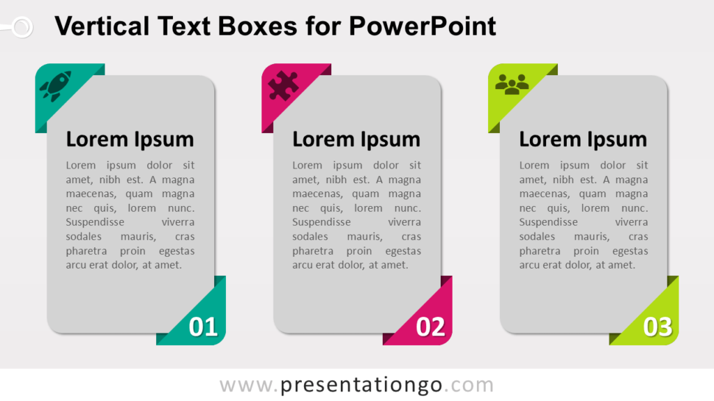 Free Vertical Textboxes for PowerPoint