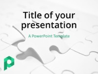 Free business powerpoint templates presentationgo jigsaw puzzle powerpoint template light flashek