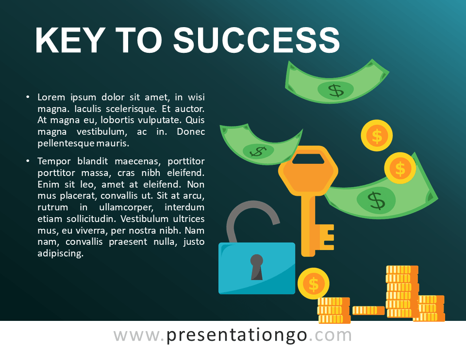 Key to Success - Free PowerPoint Template