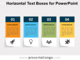 Free Horizontal Text Boxes for PowerPoint