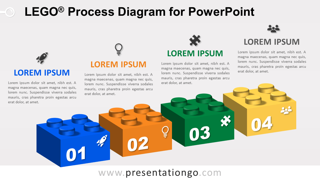 Lego Process for PowerPoint