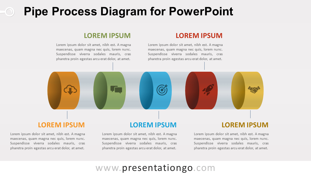 Pipe Process for PowerPoint