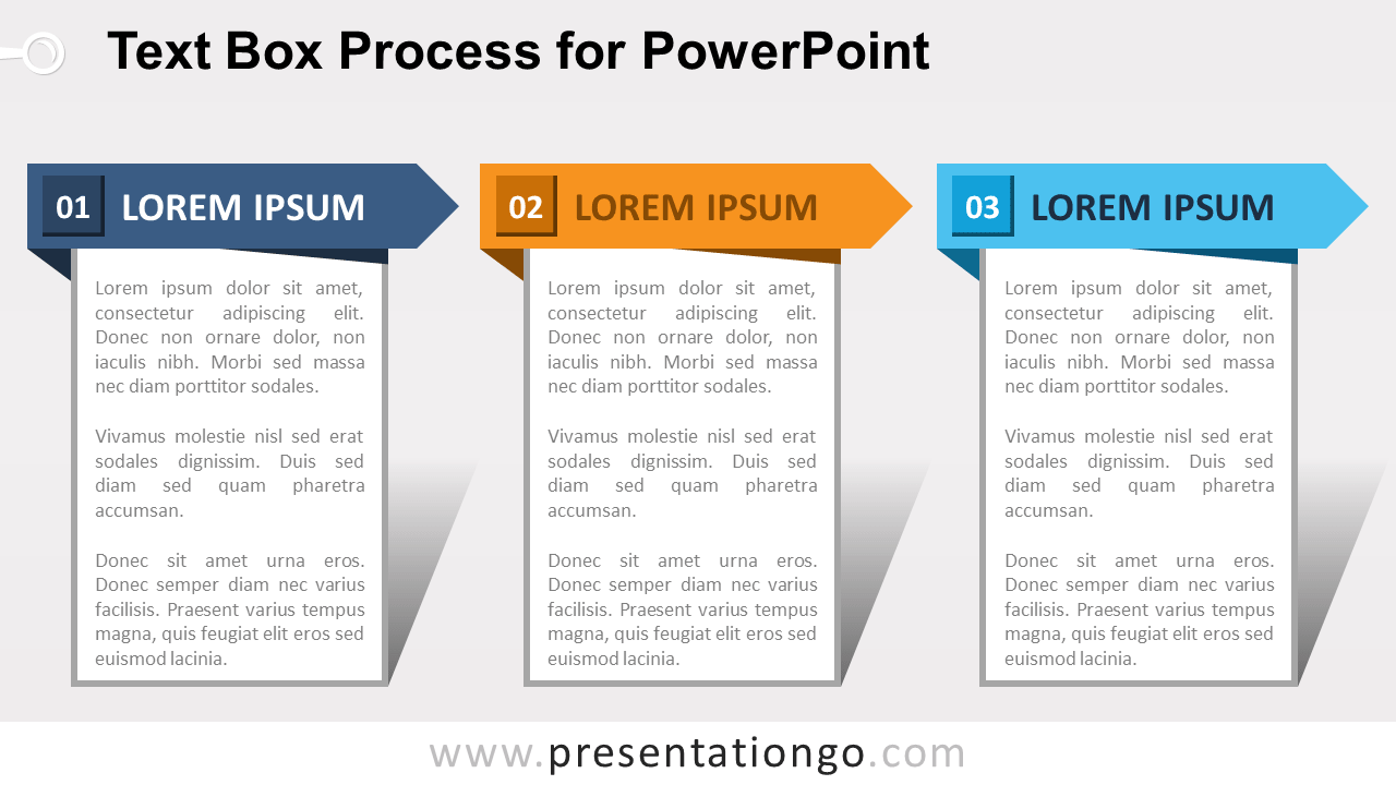 Text Box Process For Powerpoint