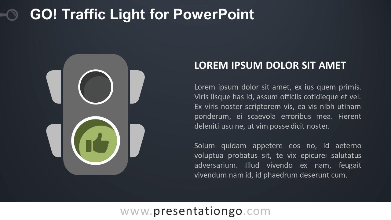 Go Traffic Light For Powerpoint Presentationgo Com