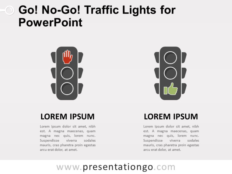 Free Go, No-Go Traffic Lights for PowerPoint