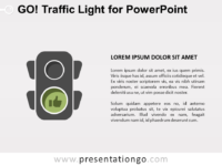 Free Go Traffic Light for PowerPoint