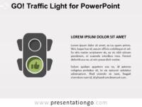 Free Go Traffic Light for PowerPoint