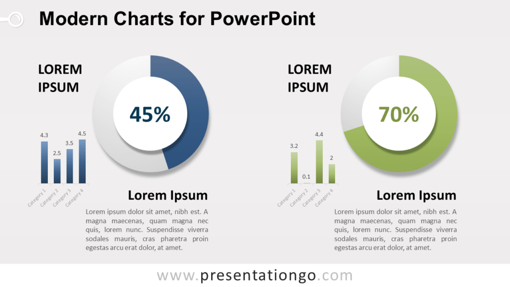 Modern Data-Driven Charts for PowerPoint