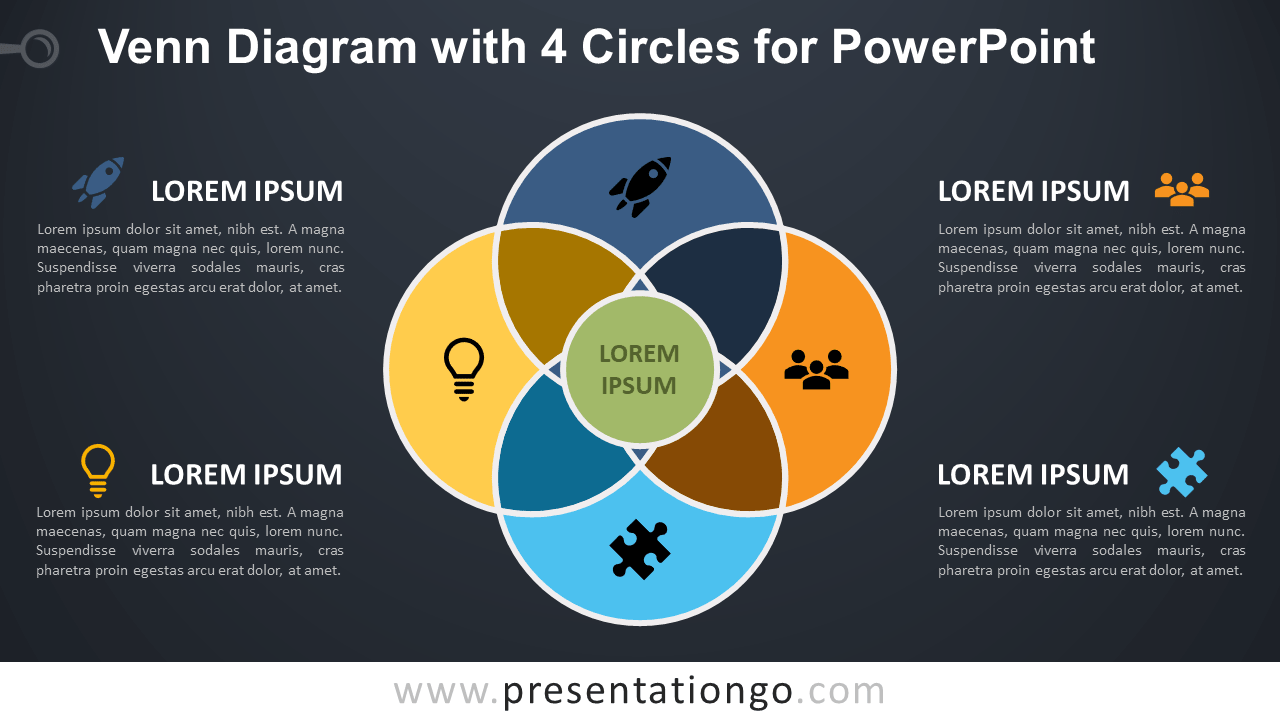 wiring diagram for lights dark room dark circles diagram venn diagram with 4 circles for powerpoint ...