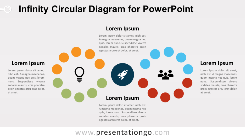 Free Infinity Diagram for PowerPoint