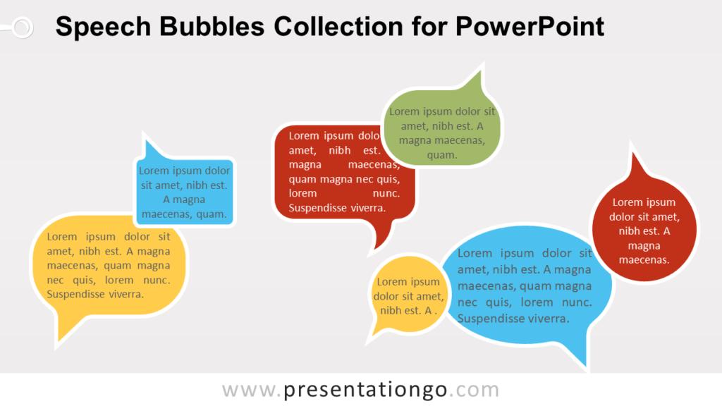 Free Speech Bubbles for PowerPoint
