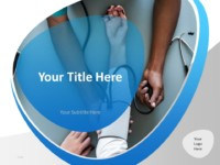 Free Doctor PowerPoint Template - Cover Slide