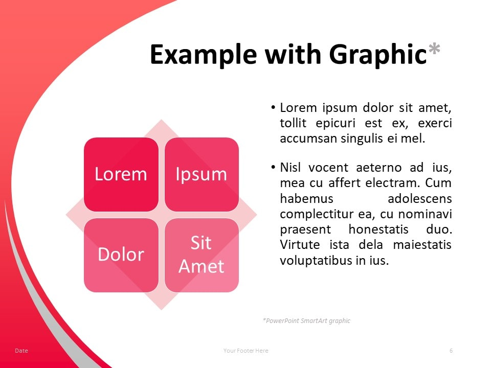 Free Teacher PowerPoint Template - 2 Columns