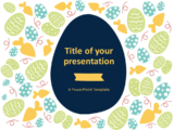 Free Flat Easter PowerPoint Template - Style 1