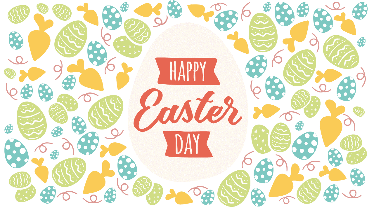 Free Happy Easter Day PowerPoint Template - Style 2