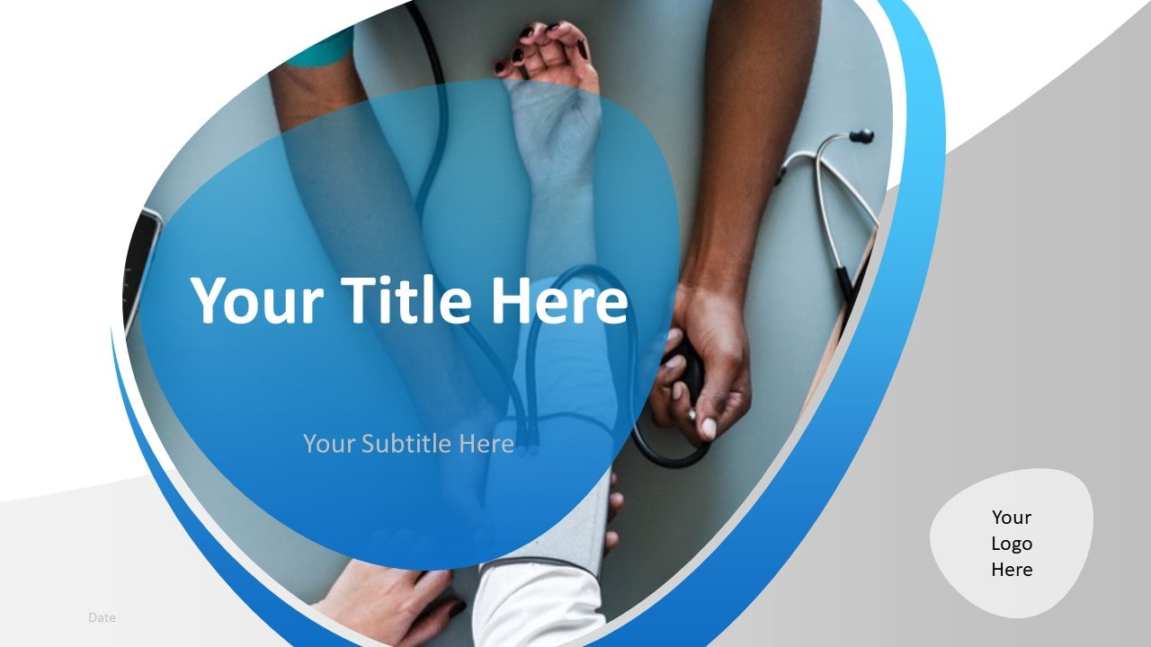 Free Doctor PowerPoint Template - Cover