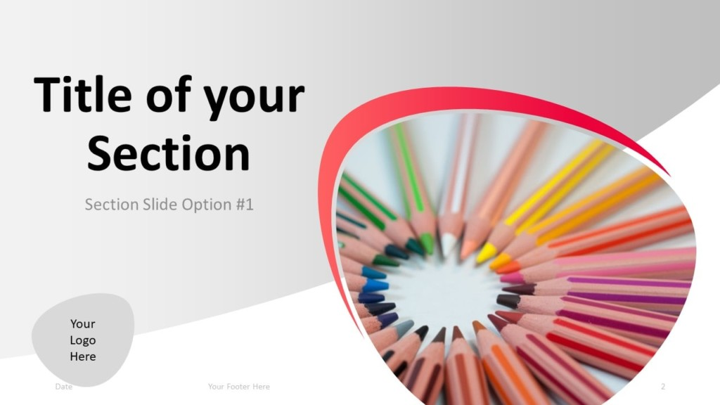 Free Teacher PowerPoint Template - Section 1