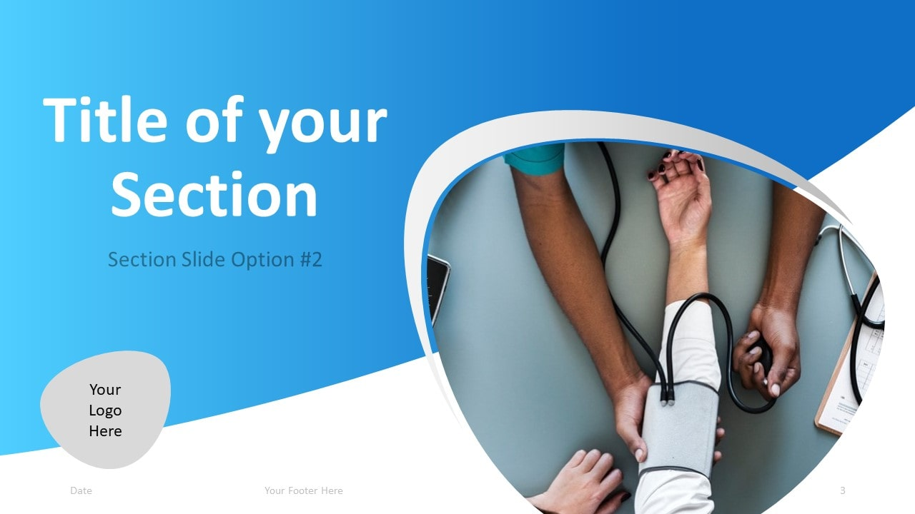 Free Doctor PowerPoint Template - Section 2