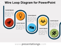Free Wire Loop Diagram for PowerPoint