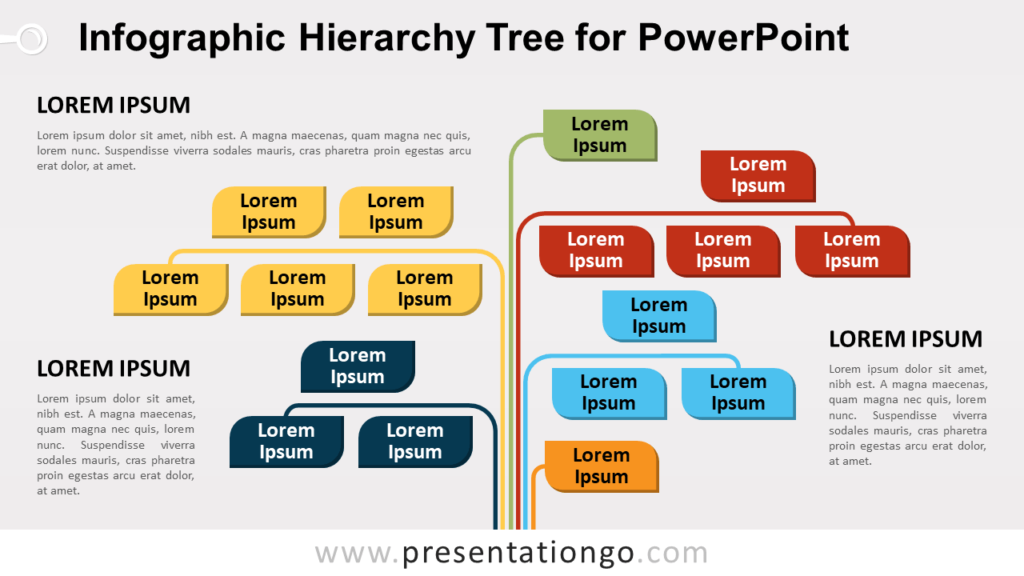 Free Infographic Tree for PowerPoint