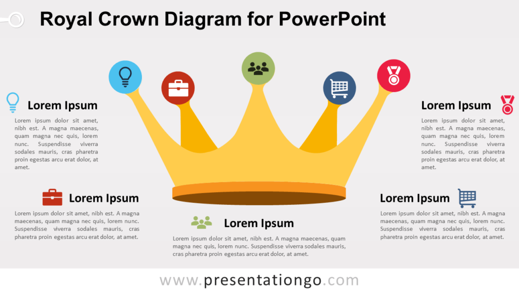 Royal Crown for PowerPoint