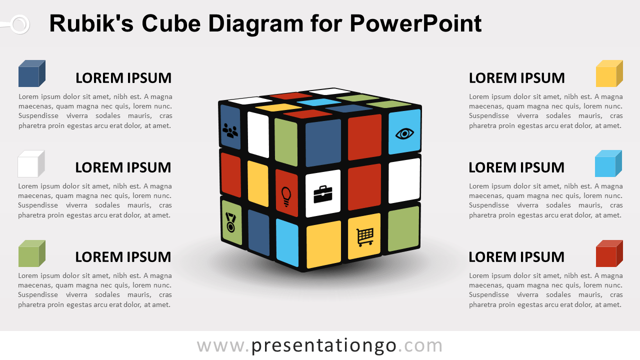 Rubik's Cube for PowerPoint