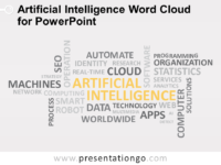 Free Artificial Intelligence Word Cloud for PowerPoint