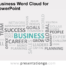 Free Business Word Cloud for PowerPoint