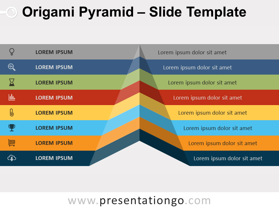 Free Origami Pyramid Template