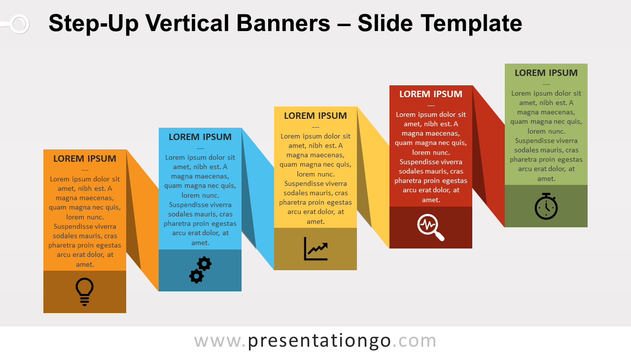 Free Step-Up Banners for PowerPoint and Google Slides