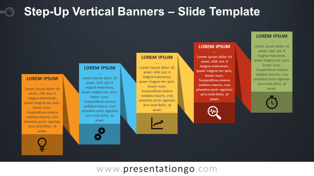 Free Step-Up Process Banners for PowerPoint and Google Slides