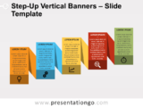 Step-Up Vertical Banners