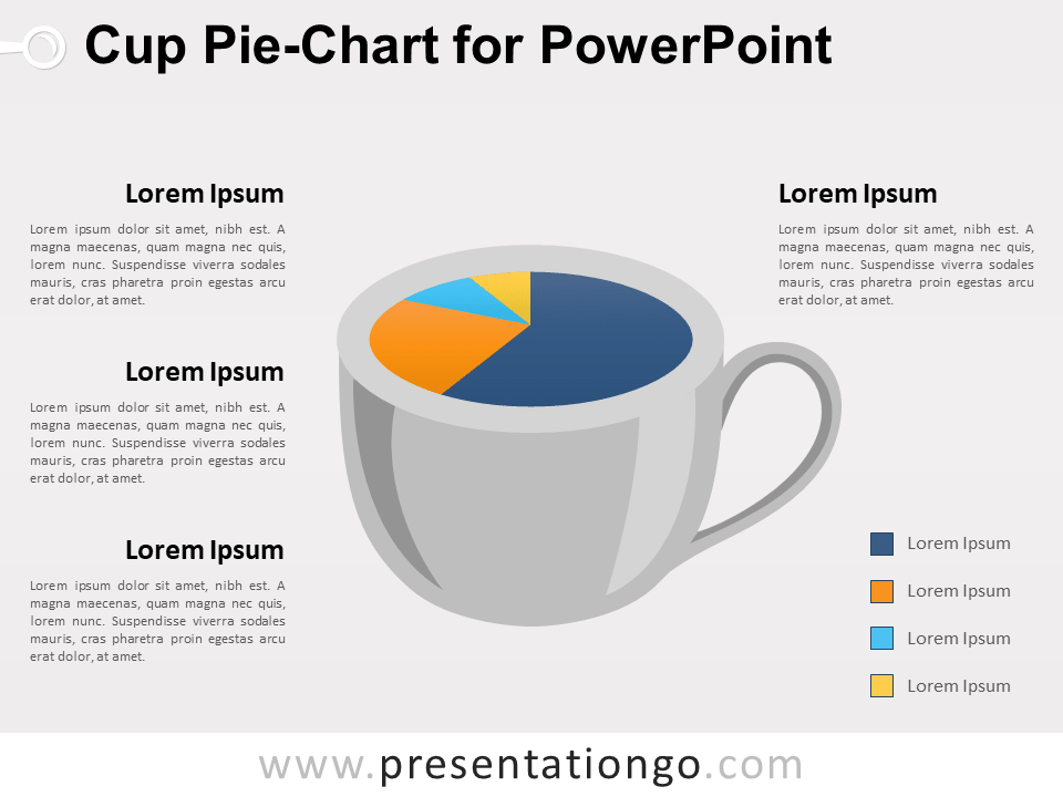 Cup Chart for PowerPoint