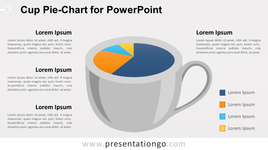 Cup Chart Template for PowerPoint