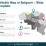 Free Map of Belgium Slide Template