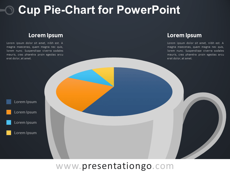 Pie-Chart Cup for PowerPoint