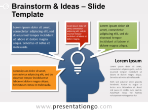 Free Brainstorm and Ideas for PowerPoint