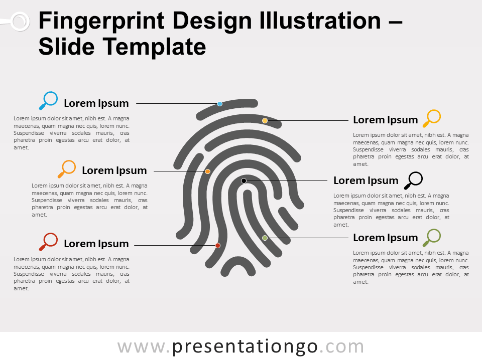 Free Fingerprint Slide Template